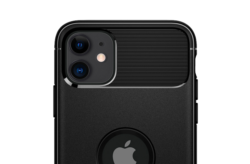 Coque iPhone 11 Spigen® Rugged Armor - Noir-details (8)