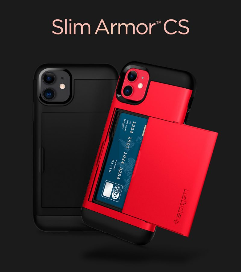 Coque iPhone 11 Spigen® Slim Amor CS-details (1)