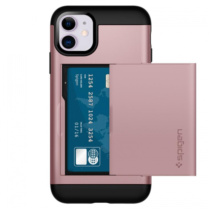 Coque iPhone 11 Spigen® Slim Amor CS-rose gold (80)